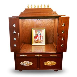 "48"" Closed Design Pooja Mandir"