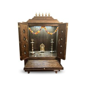 "40"" Closed Door Pooja Mandir M#1"